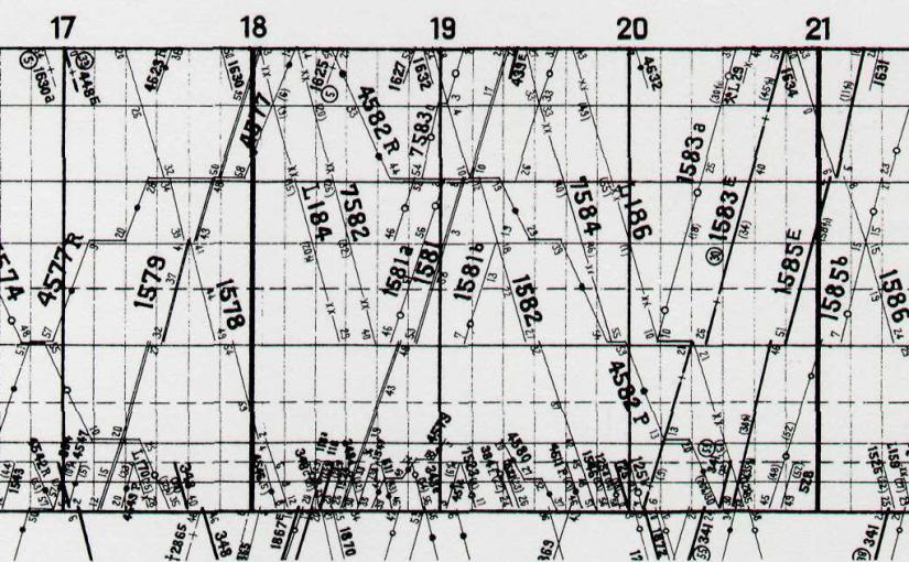 4. Rozkład Szwajcarskich Kolei Państwowych — Chaux de Fonds (1932) 1