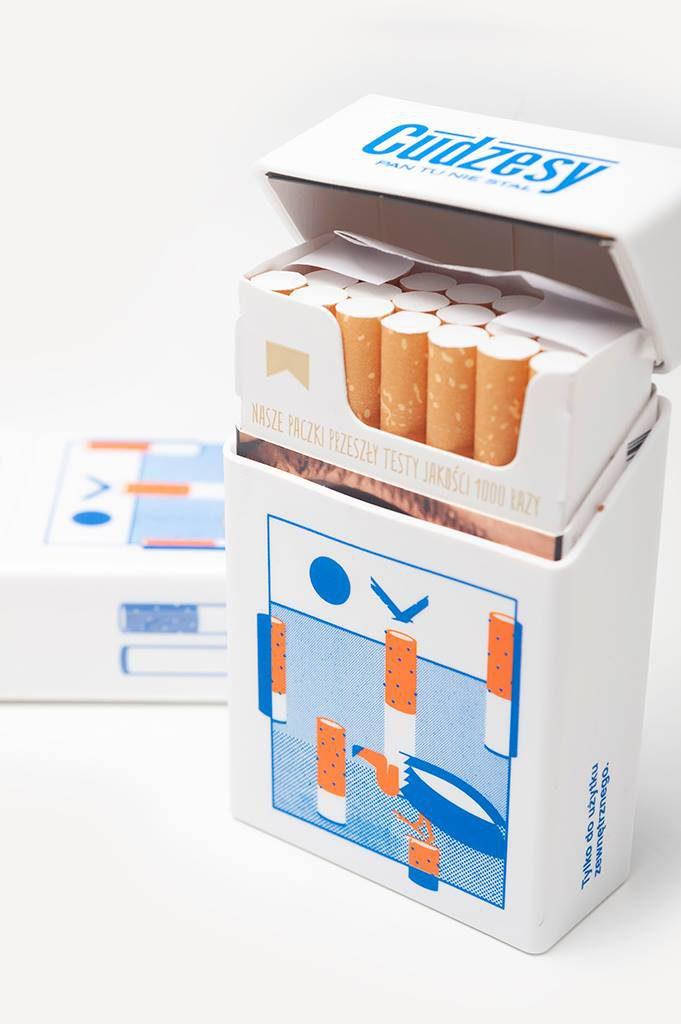 Etui na paczkę papierosów by Pan Tu Nie Stał